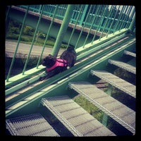 Photo taken at Discovery Walk DVP Footbridge by Shane Edward Richard S. on 7/2/2013