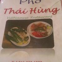 Photo taken at Phở Thái Hùng by Anastasia I. on 9/22/2012