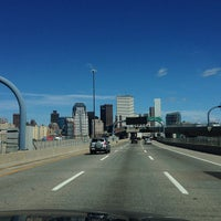 Photo taken at 4th Street Bridge by Barry F. on 9/24/2013