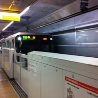 Photo taken at 日吉本町駅 (Hiyoshi-honcho Sta.) (G09) by RIE Y. on 3/9/2013