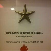 Photo taken at Nizam's Kathi Kabab | निजा़म काठी कबाब by Vasanth A. on 12/22/2013