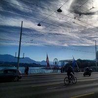 Photo taken at Seebrücke by Patrick R. on 10/6/2012