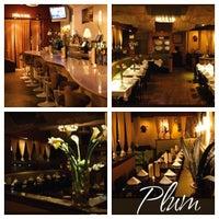 Photo taken at Plum Restaurant Bar & Lounge by DJ AMOROSO on 2/24/2013