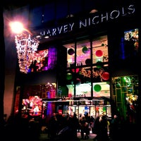 Photo taken at Harvey Nichols by nelsongirl on 12/2/2012