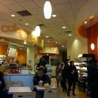 Photo taken at Au Bon Pain by Mika on 11/21/2012