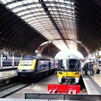 Photo taken at London Paddington Railway Station (QQP) by Martin B. on 4/14/2013