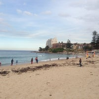 Photo taken at South Cronulla Beach by César A. on 7/14/2013