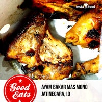 Photo taken at Ayam Bakar Mas Mono by Eshape B. on 6/22/2015