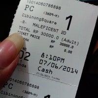 Photo taken at Platinum Cineplex by Abda A. on 6/7/2014