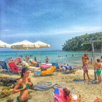 Photo taken at Almyra Beach Bar by Angie Z. on 7/26/2016