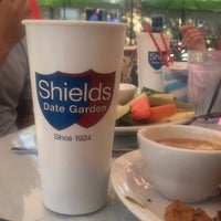 Photo taken at The Cafe at Shields Date Garden by Nikki G. on 4/22/2016