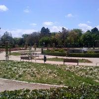 Photo taken at Jardins del Reial - Vivers by eLeNeii on 5/11/2013