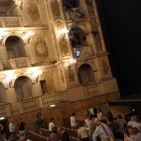 Photo taken at Teatro Comunale by Matteo A. on 10/7/2012
