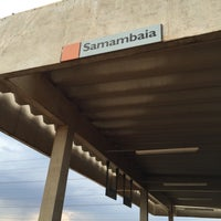 Photo taken at Estação Samambaia - METRÔ-DF by Danilo M. on 10/24/2015