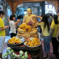 Photo taken at Wat Paknam Bhasi Charoen by Sev S. on 12/5/2012