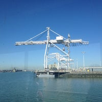 Photo taken at Oakland Ferry Terminal by Elisabeth on 4/29/2013