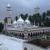 Photo taken at Masjid Jamek Kuala Lumpur by Andrey K. on 1/17/2013