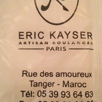 Photo taken at Eric Kayser by Hind I. on 12/2/2012