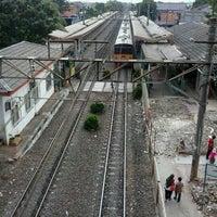 Photo taken at Stasiun Cawang by Flor F. on 6/6/2013