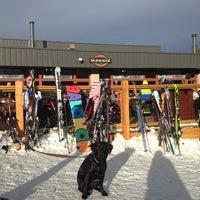 Photo taken at The Maggie at Peak 9 Base by Jeff M. on 3/2/2013