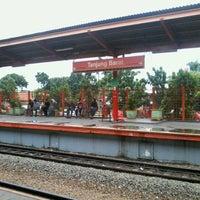 Photo taken at Stasiun Tanjung Barat by Putri A. on 1/27/2013