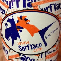 Photo taken at Surf Taco by Carlos P. on 4/6/2013