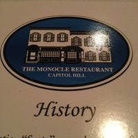 Photo taken at The Monocle by David B. on 4/4/2013