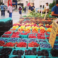 Photo taken at Union Square Greenmarket by Donny T. on 7/24/2013