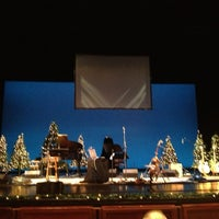 Photo taken at Rose Wagner Performing Arts Center by Al D. on 12/23/2012