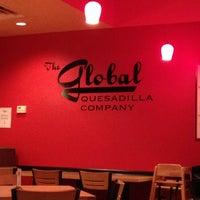 Photo taken at Global Quesadilla by David W. on 10/26/2013