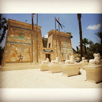 Photo taken at Pharaonic Village by Rizki P. on 5/31/2015