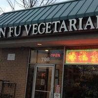 Photo taken at Yuan Fu Vegetarian by William D. on 3/20/2013