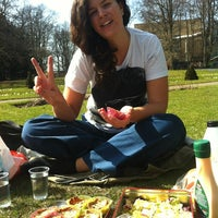 Photo taken at Stadsparken by Nelly O. on 4/17/2013