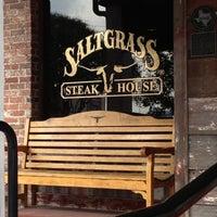 Photo taken at Saltgrass Steak House by ARACELY G. on 12/9/2012