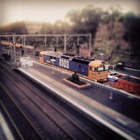 Photo taken at Croydon Station by Ainslie . on 8/3/2013