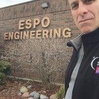 Photo taken at Espo Engineering by Kurt E. on 3/14/2016
