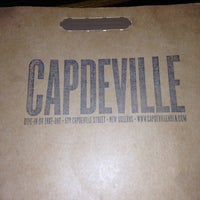 Photo taken at Capdeville by Tami L. on 4/19/2013