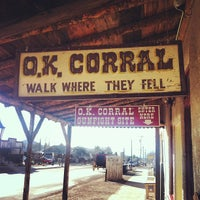 Photo taken at O.K. Corral by Allyson B. on 3/13/2013