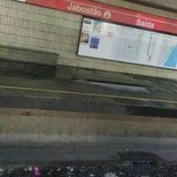 Photo taken at Estação Jaboatão (CBTU/Metrorec) by Eduardo M. on 4/16/2016