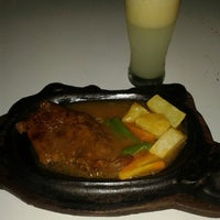 Photo taken at Waroeng Steak & Shake by Christian A. on 2/22/2014