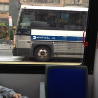 Photo taken at MTA Bus - M23 by Ed J. on 10/17/2012
