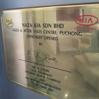 Photo taken at Naza Kia Services Sdn Bhd by SY on 5/23/2013