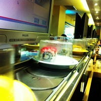 Photo taken at Hei Sushi by M. Lutfi on 10/31/2012