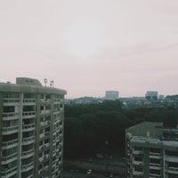 Photo taken at Petaling Indah Condominium by Duddin I. on 6/9/2015