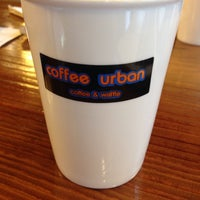 Photo taken at Coffee Urban by Jinwoo P. on 1/18/2014