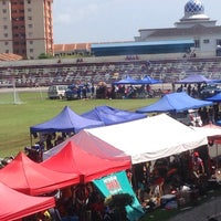 Photo taken at Stadium Sungai Besar by Md A. on 12/20/2015