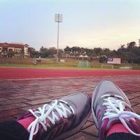Photo taken at Stadium UKM by Fatin A. on 11/15/2012