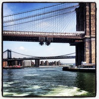 Photo taken at East River by Mary-Majella O. on 5/20/2013