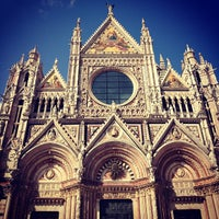 Photo taken at Duomo di Siena by Max Z. on 7/14/2013
