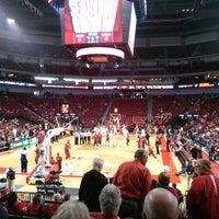 Photo taken at Pinnacle Bank Arena by Virginia W. on 11/17/2013